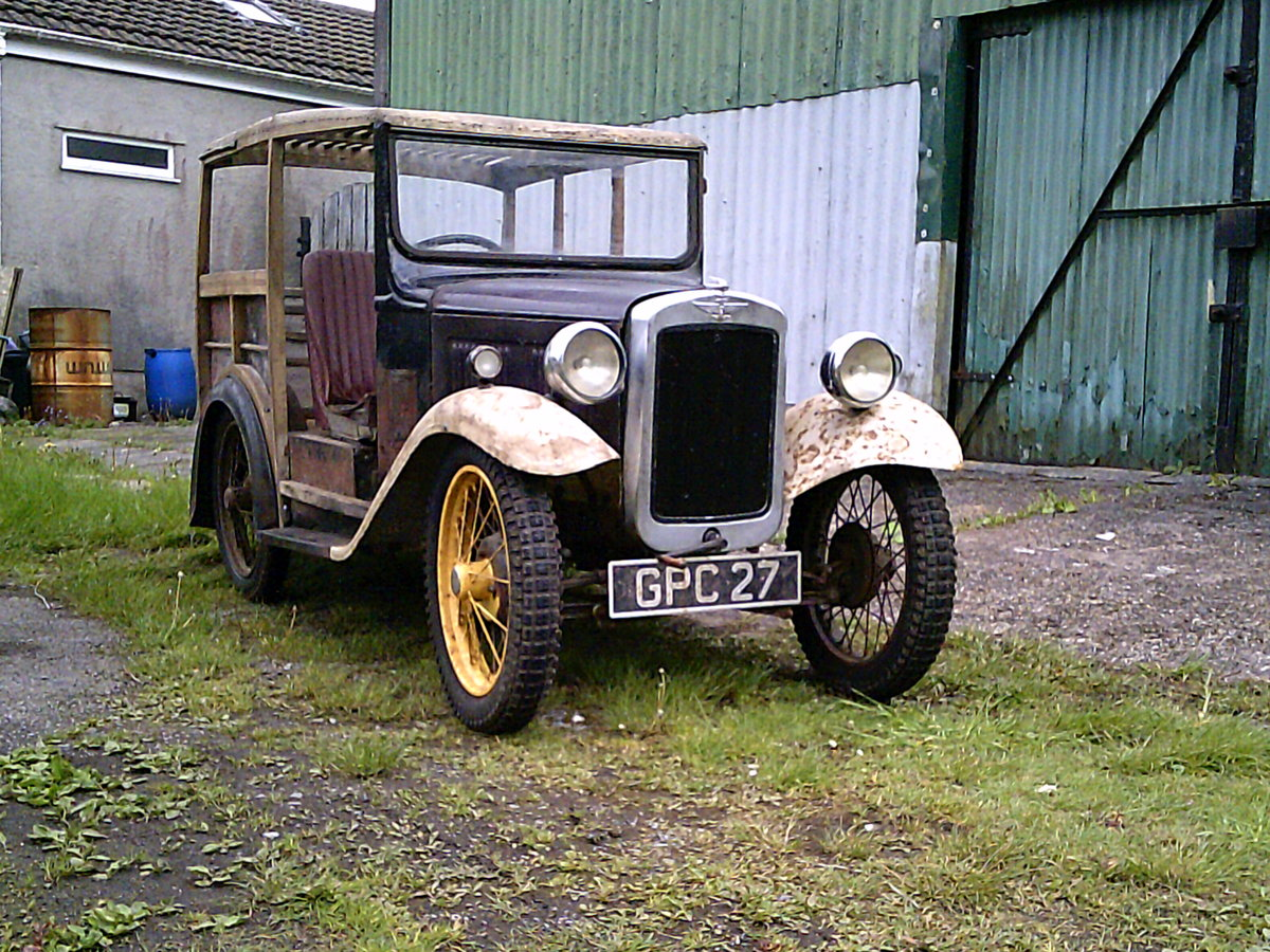 1937 Rare austin 7 van SOLD (picture 2 of 6)