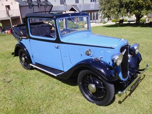 Austin 10 Colwyn Cabriolet first registered 1935 For Sale