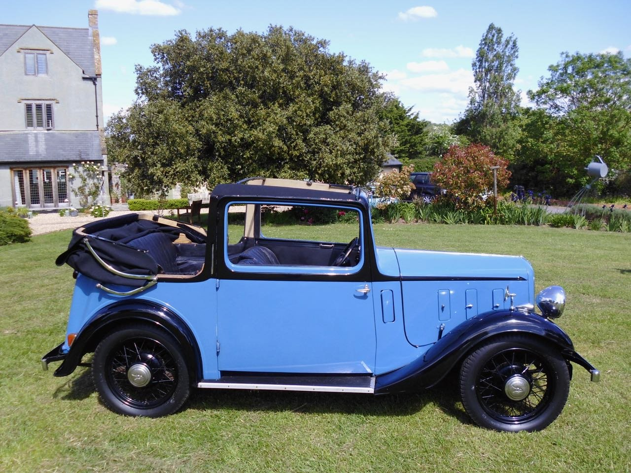 Austin 10 Colwyn Cabriolet first registered 1935 SOLD (picture 2 of 6)