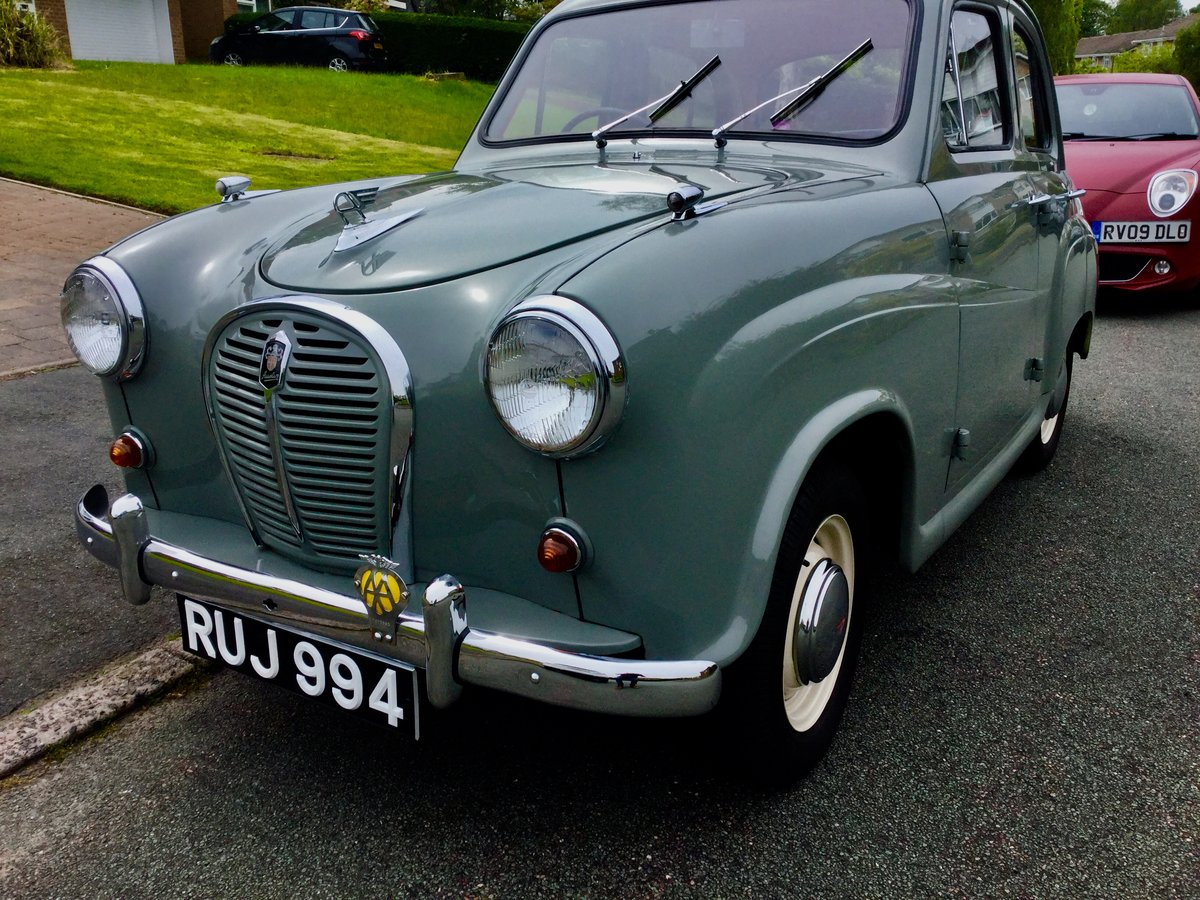 1958 Austin a35 Restored 25421.  For Sale (picture 2 of 6)