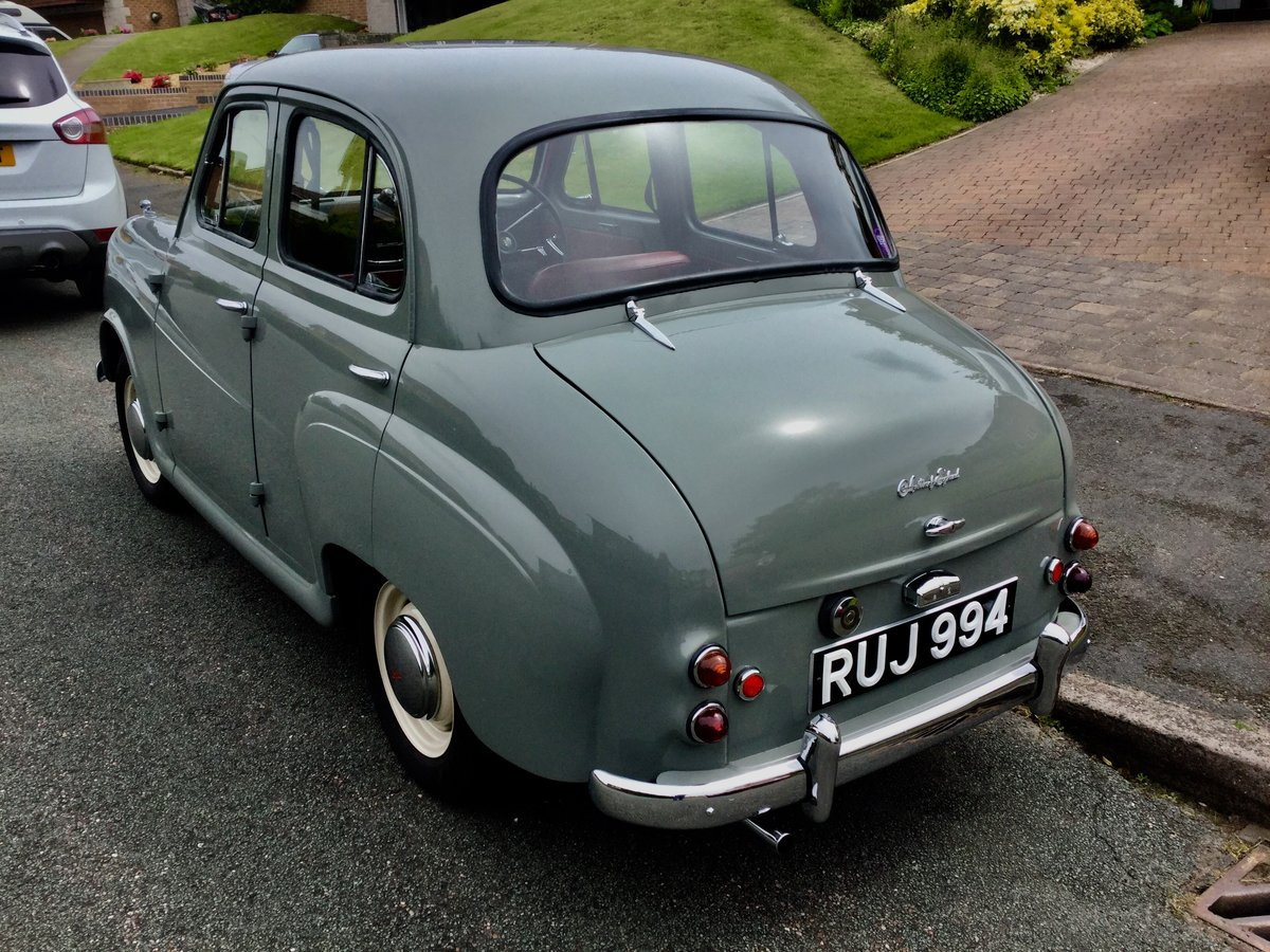 1958 Austin a35 Restored 25421.  For Sale (picture 3 of 6)
