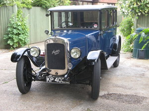 1929 Austin 16/6 Burnham Saloon SOLD