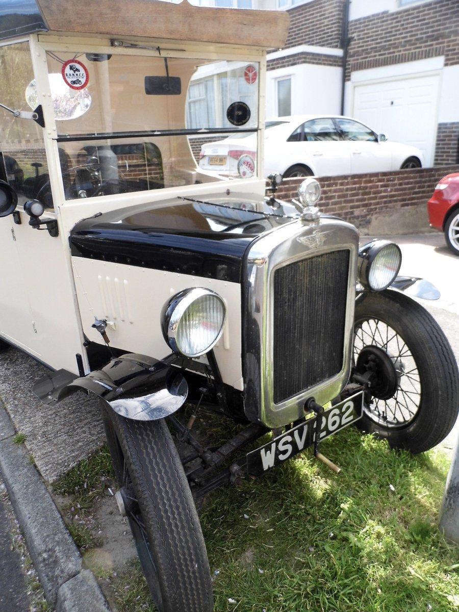 1933 Austin 7  Rare 6 Wheeler For Sale (picture 6 of 6)