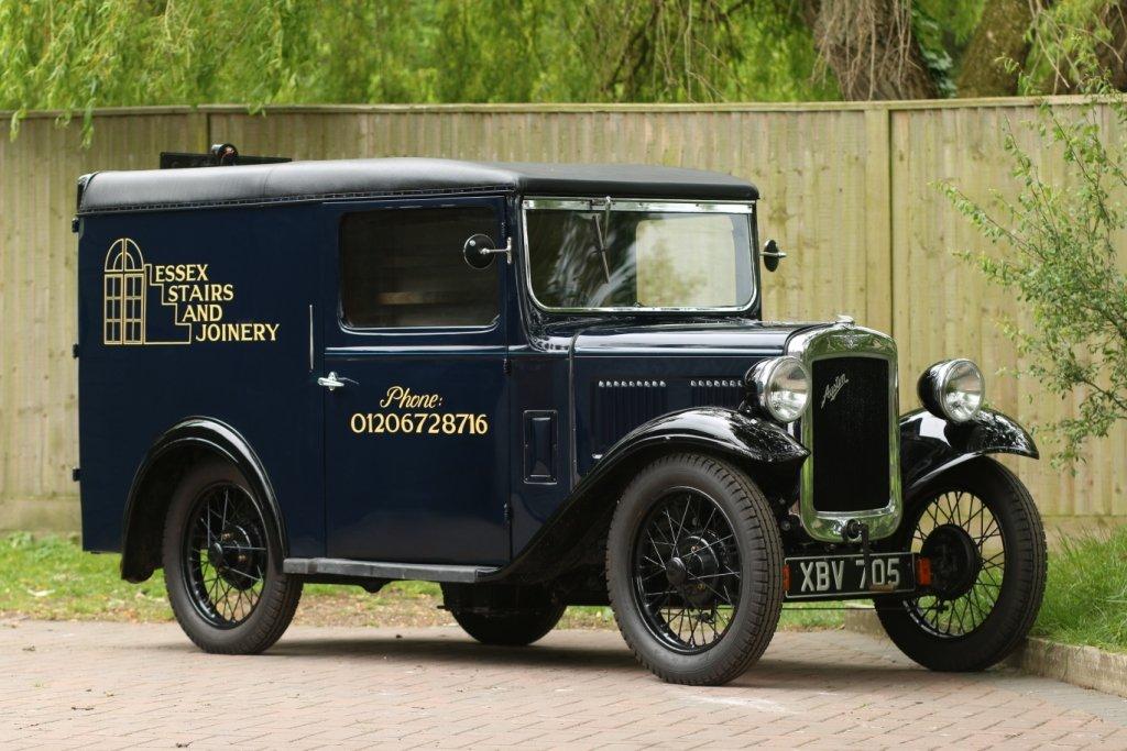 1937 Austin 7 Van SOLD (picture 1 of 6)