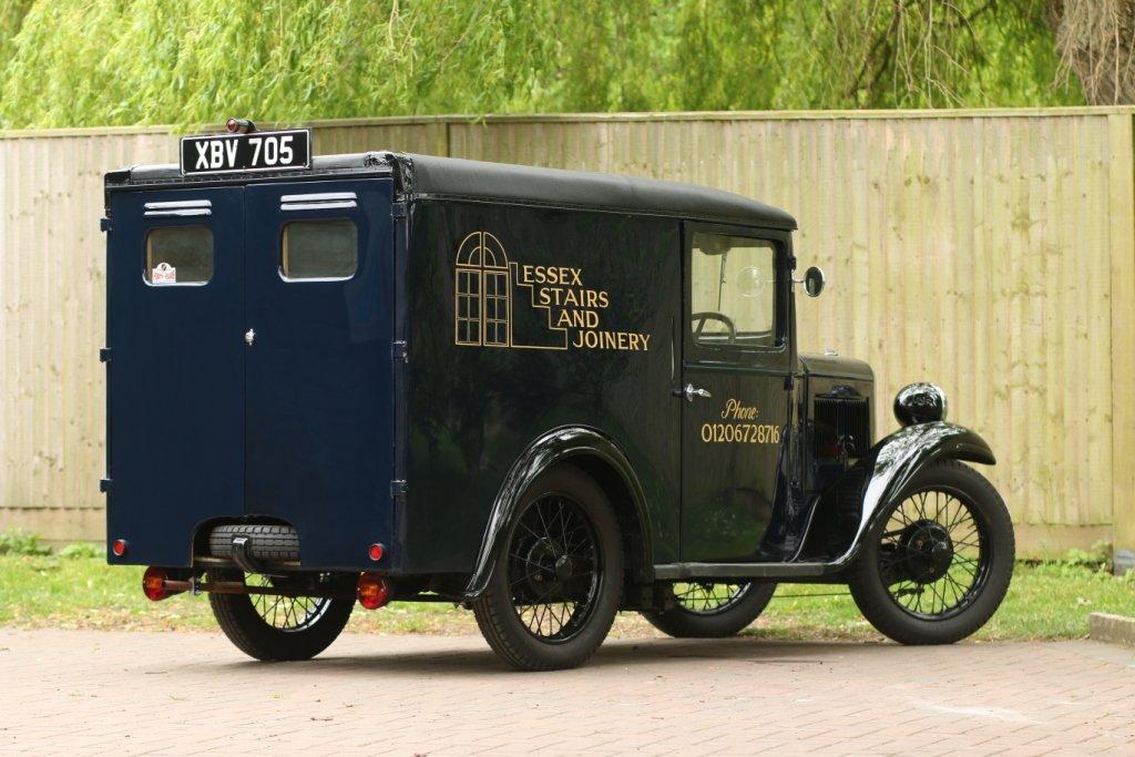 1937 Austin 7 Van SOLD (picture 2 of 6)