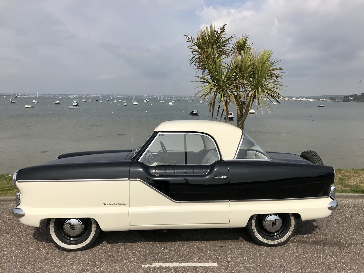 AUSTIN NASH METROPOLITAN 1958 - 1500 ONLY 49,000 miles For Sale (picture 3 of 6)