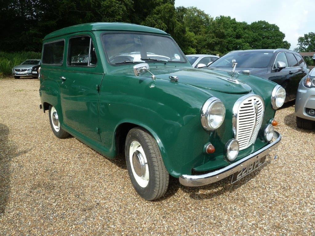 1962 Austin A35 Van SOLD (picture 1 of 6)
