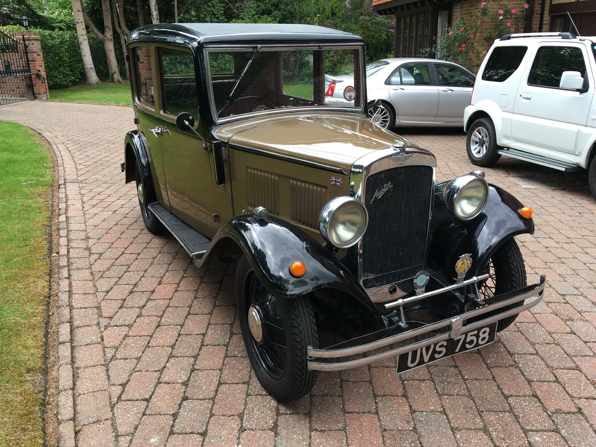 Austin 10 Saloon 1932 For Sale (picture 1 of 6)