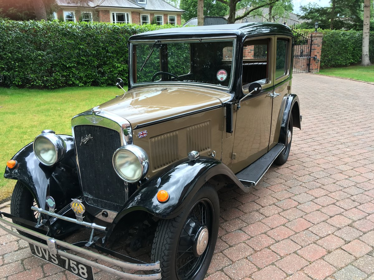 Austin 10 Saloon 1932 For Sale (picture 2 of 6)