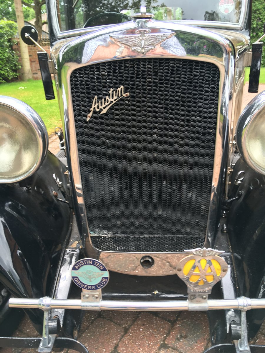 Austin 10 Saloon 1932 For Sale (picture 6 of 6)