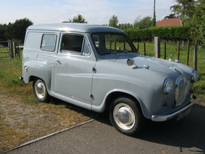 1963 AUSTIN A35 VAN. 1275cc. DISC BRAKES. REAR SEAT. SOLD