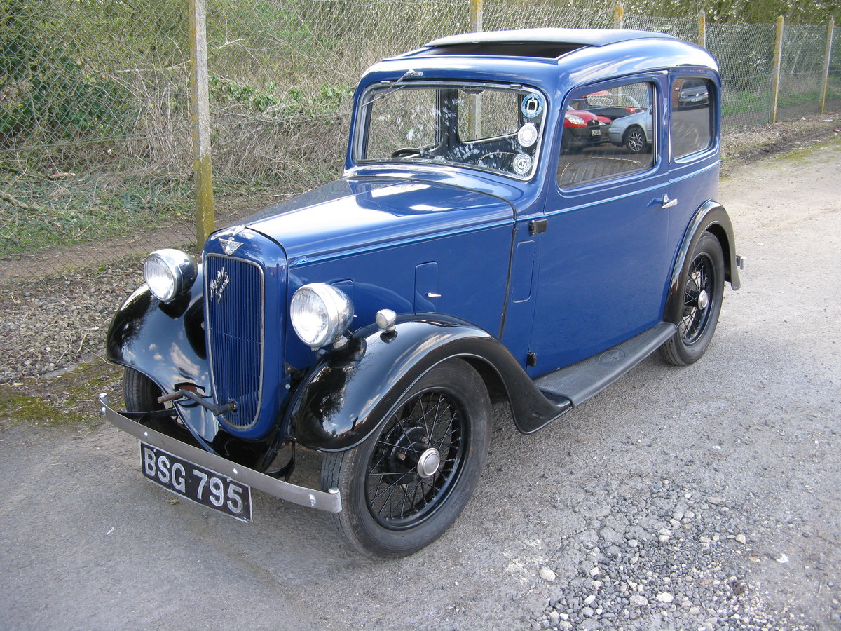 1937 Austin 7 Ruby Mk2 with sunroof SOLD (picture 1 of 6)