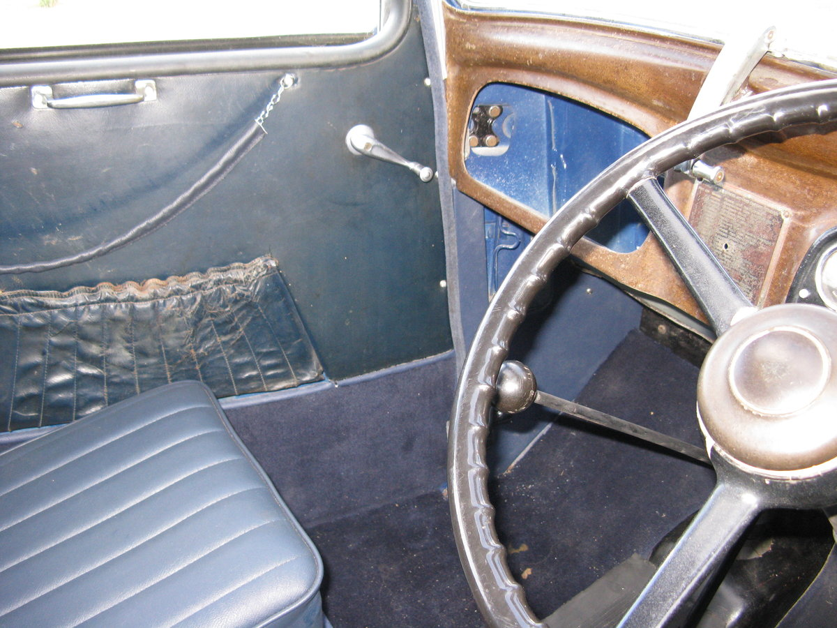 1937 Austin 7 Ruby Mk2 with sunroof SOLD (picture 4 of 6)