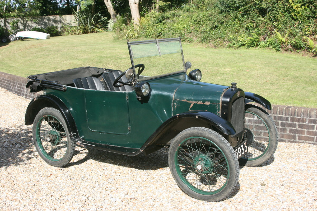 1924 Austin 7 Scoop Scuttle Chummy for auction June 15th SOLD by Auction (picture 1 of 5)
