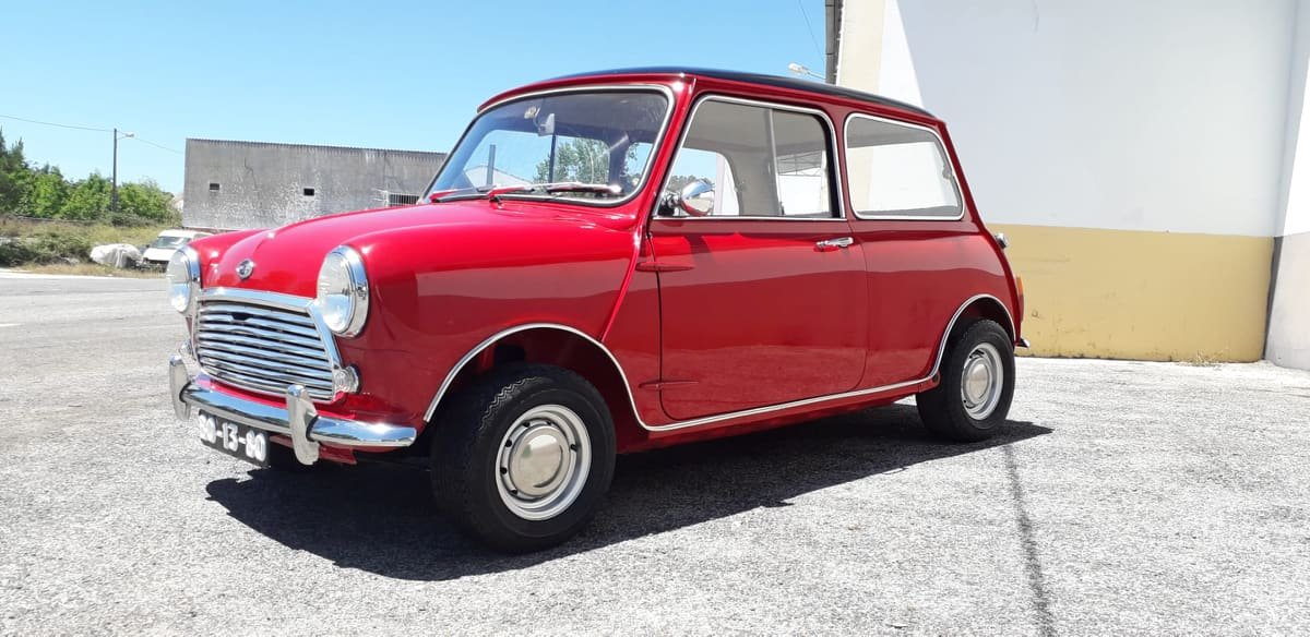 1969 Austin Mini Cooper S mk2 For Sale (picture 1 of 6)
