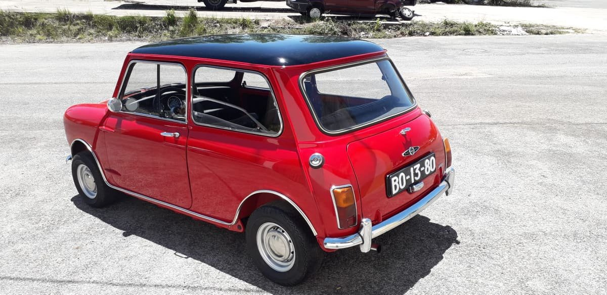 1969 Austin Mini Cooper S mk2 For Sale (picture 2 of 6)
