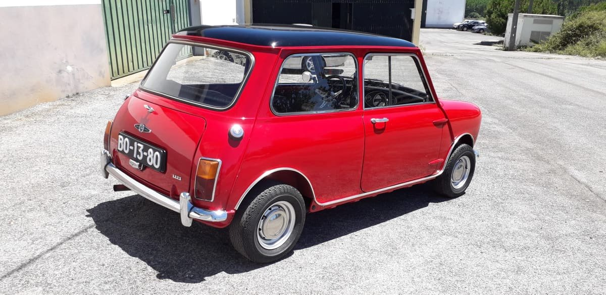 1969 Austin Mini Cooper S mk2 For Sale (picture 5 of 6)