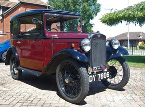 NOW SOLD - 1933 Austin 7 RP Saloon For Sale