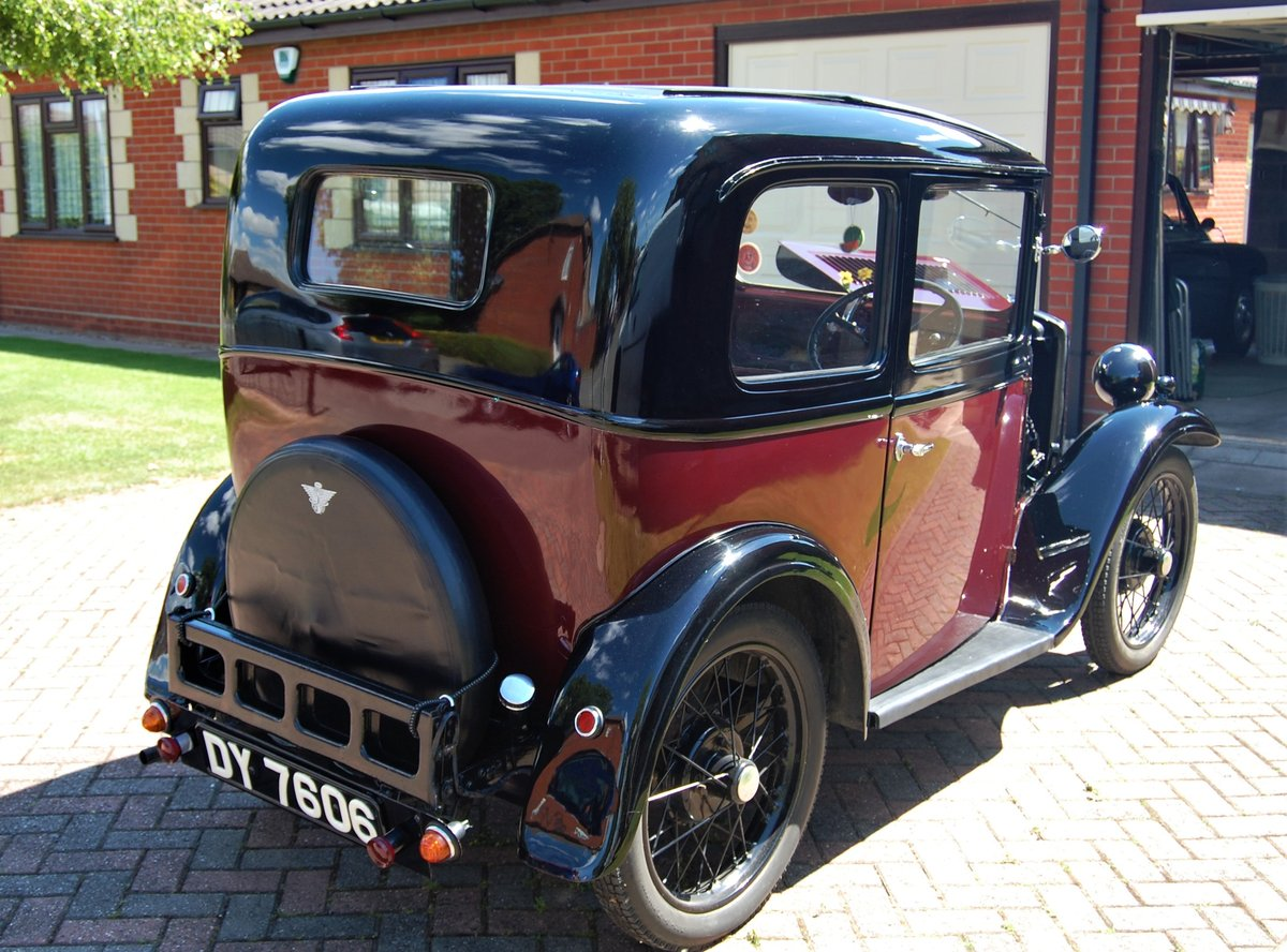 NOW SOLD - 1933 Austin 7 RP Saloon For Sale (picture 2 of 6)