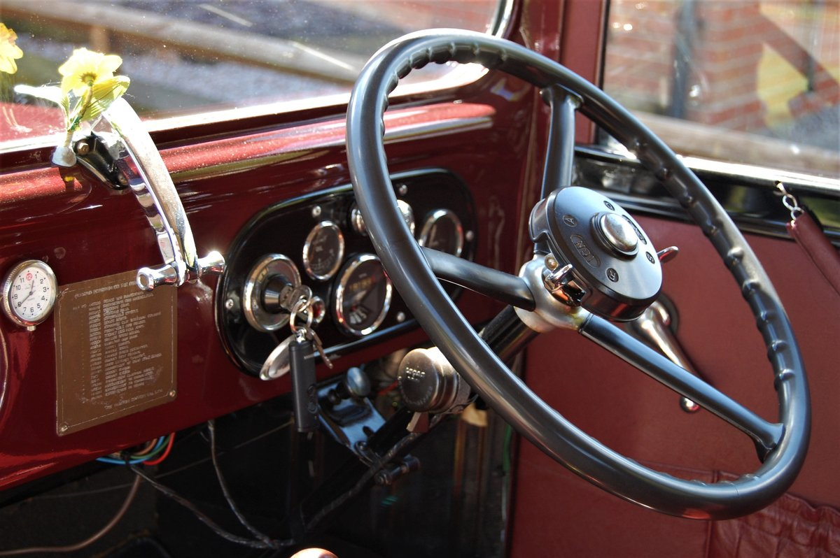 NOW SOLD - 1933 Austin 7 RP Saloon For Sale (picture 4 of 6)
