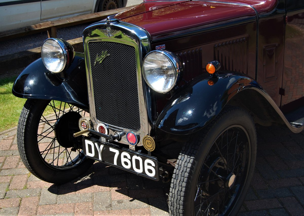 NOW SOLD - 1933 Austin 7 RP Saloon For Sale (picture 6 of 6)