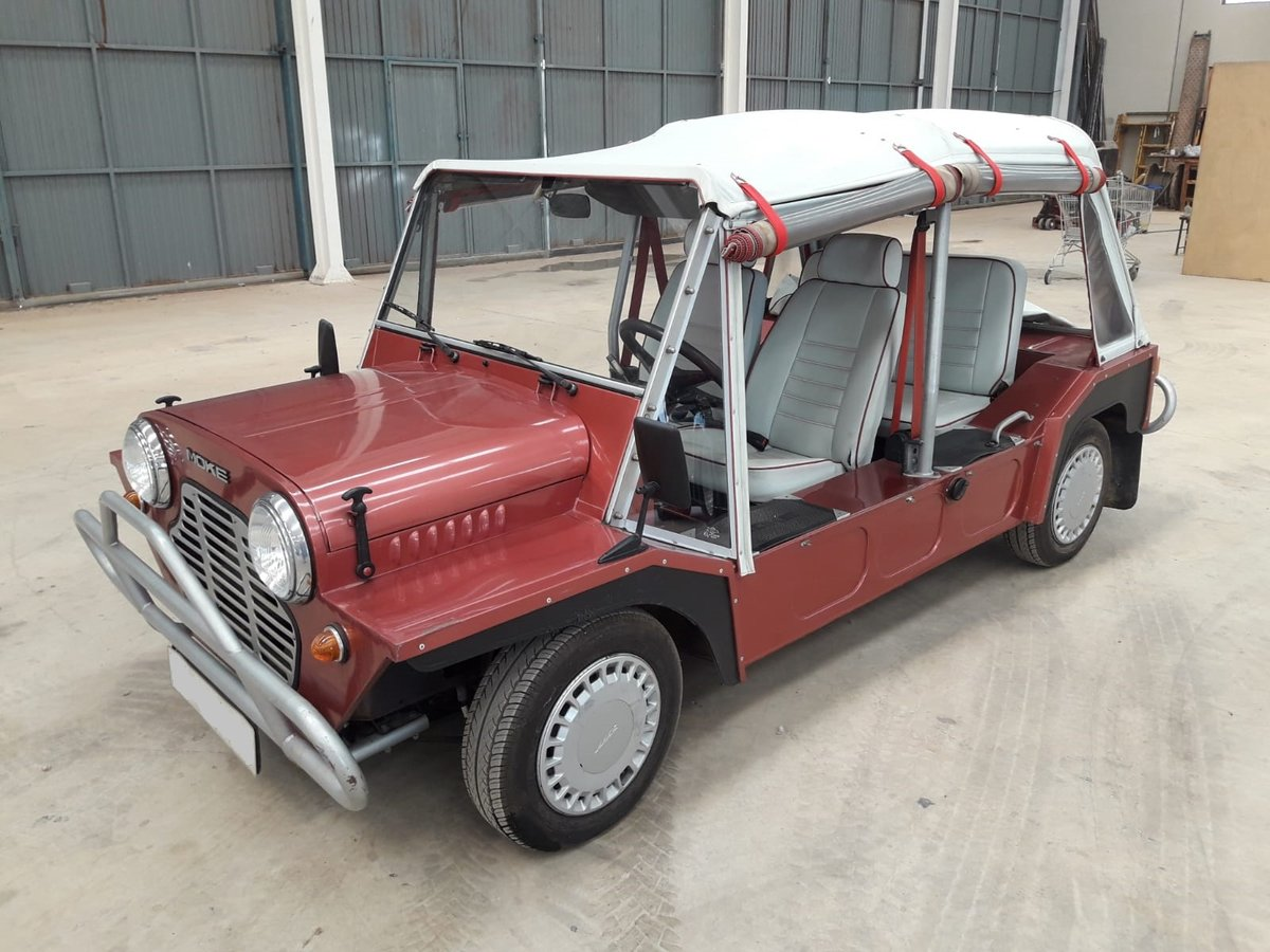 1988 Austin Rover Mini Moke just 35.000km. since new ! For Sale (picture 1 of 6)