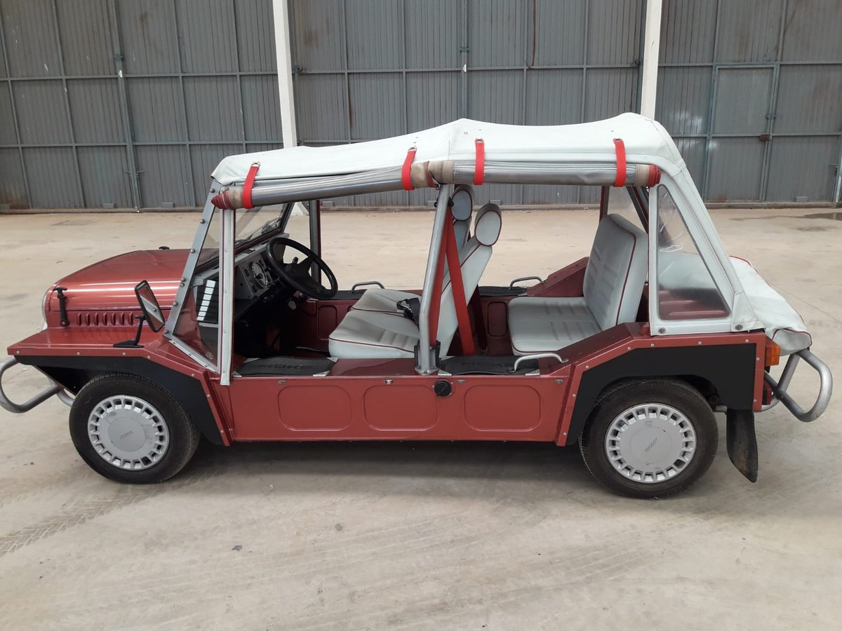1988 Austin Rover Mini Moke just 35.000km. since new ! For Sale (picture 5 of 6)