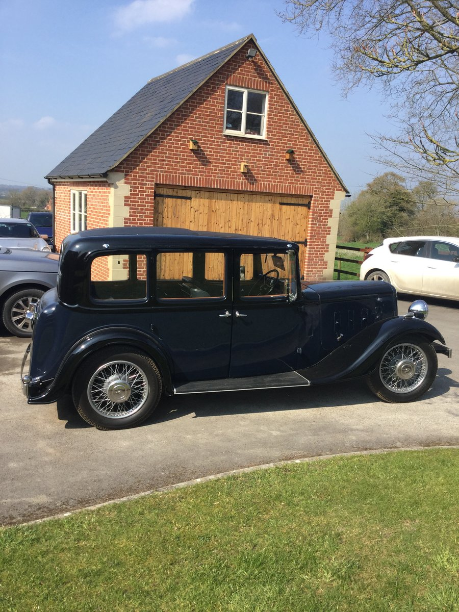 1935 Austin 12/4 Hertford for sale by auction June 15th SOLD by Auction (picture 1 of 6)
