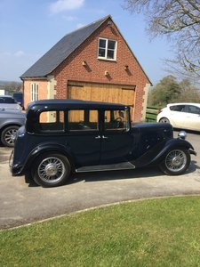 1935 Austin 12/4 Hertford for sale by auction June 15th SOLD by Auction