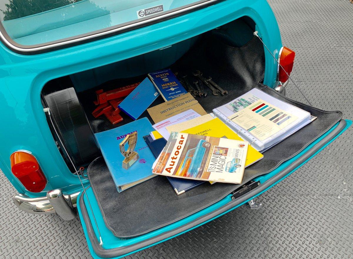 1963 Speedwell-tuned Austin Mini Mark 1 Super De Luxe For Sale (picture 2 of 6)