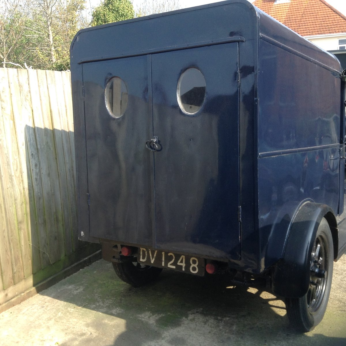 1929 Austin 12/4 Van For Sale (picture 2 of 6)