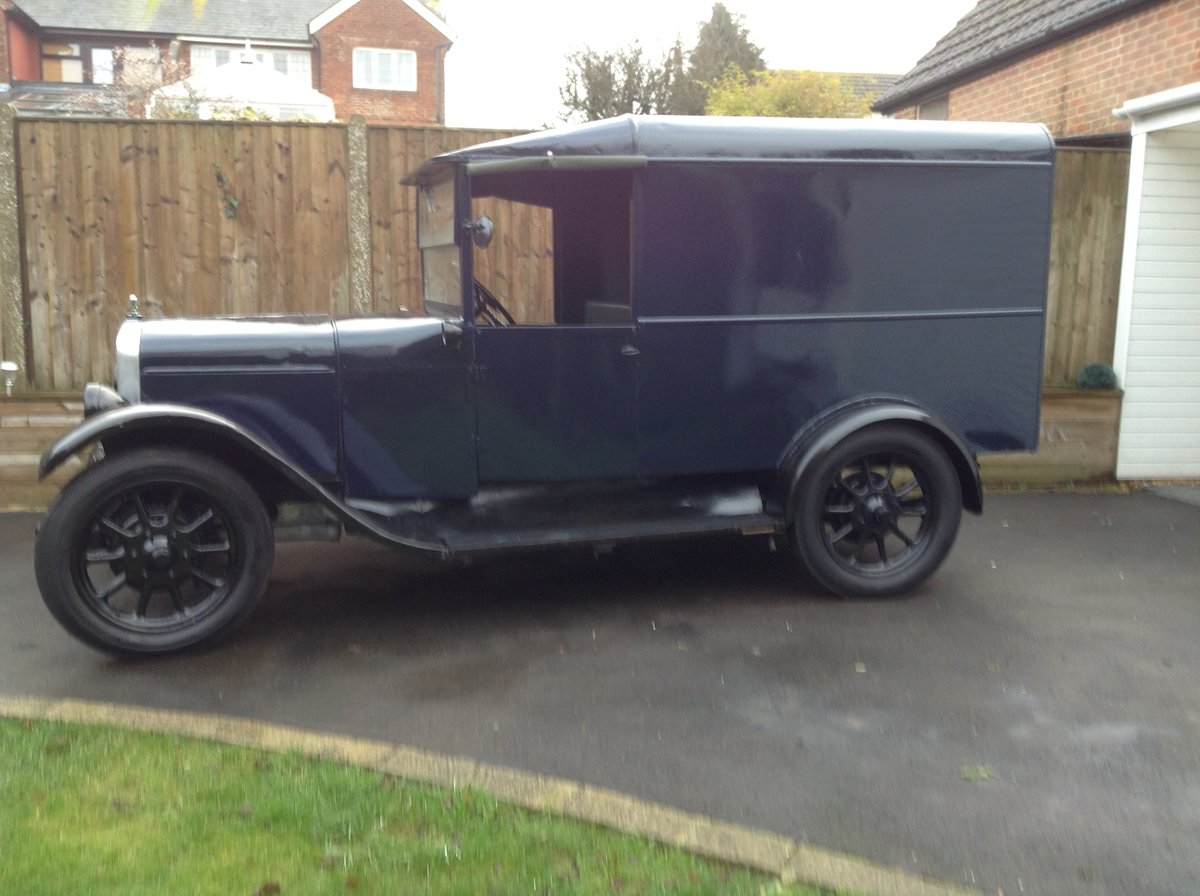 1929 Austin 12/4 Van For Sale (picture 5 of 6)