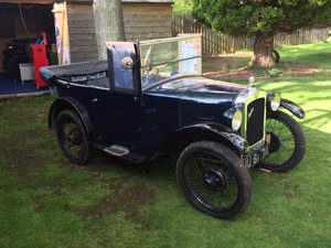 1929 Austin 7 Chummy for sale by auction June 15th SOLD by Auction