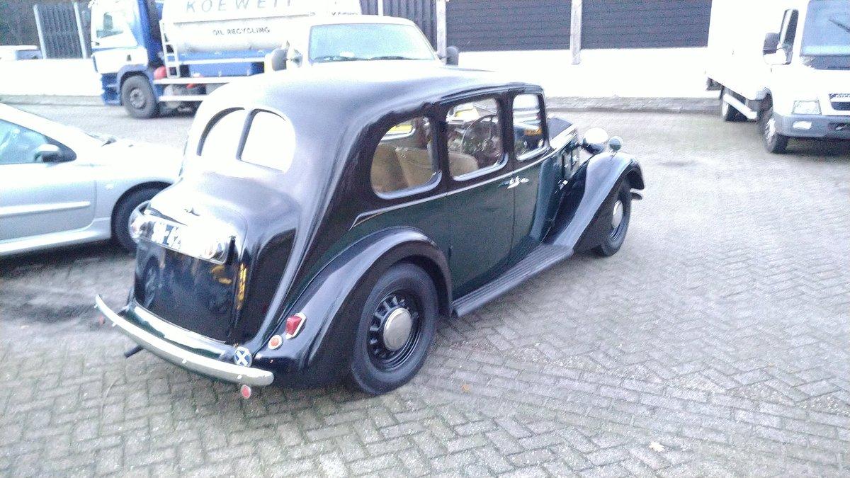 Austin 12/4 Ascot Saloon 1937 100% original SOLD (picture 2 of 6)