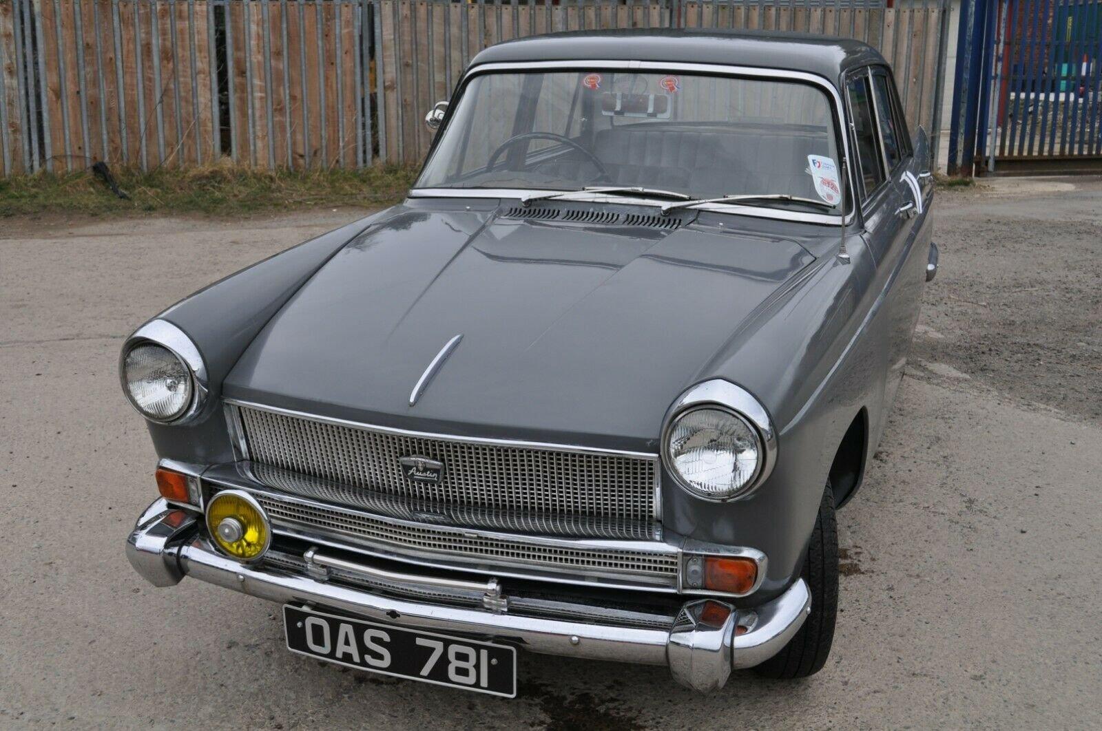 1961 AUSTIN CAMBRIDGE A55 FARINA TAX & MOT EXEMPT GRAMPIAN GREY For Sale (picture 2 of 6)
