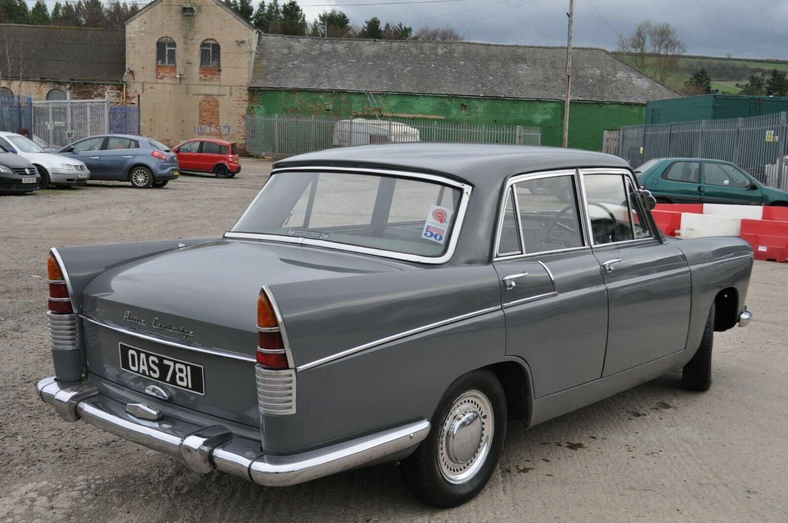 1961 AUSTIN CAMBRIDGE A55 FARINA TAX & MOT EXEMPT GRAMPIAN GREY For Sale (picture 4 of 6)