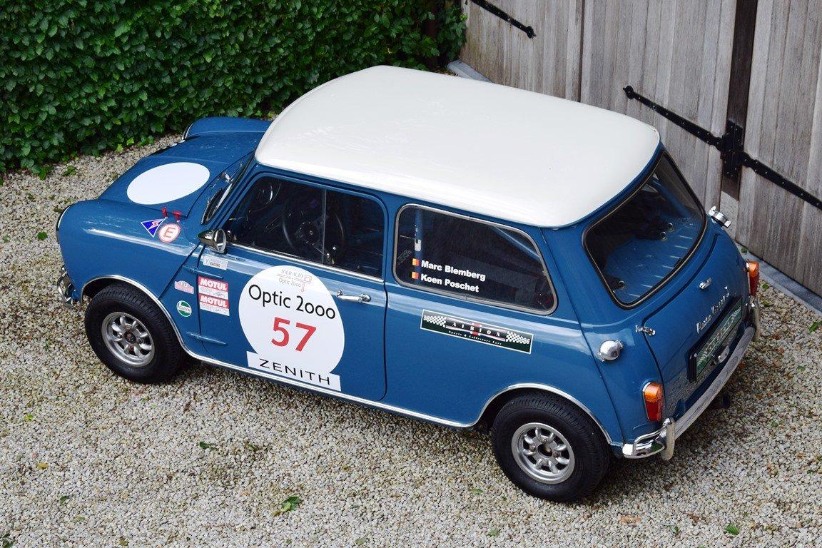 1967 Austin Mini Mk1 Cooper S. Ex-Tour Auto. FIA HTP For Sale (picture 3 of 6)