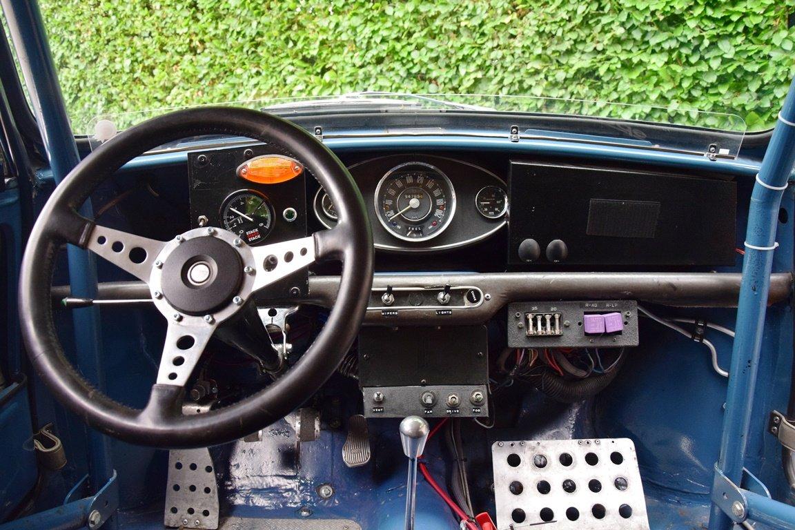 1967 Austin Mini Mk1 Cooper S. Ex-Tour Auto. FIA HTP For Sale (picture 5 of 6)