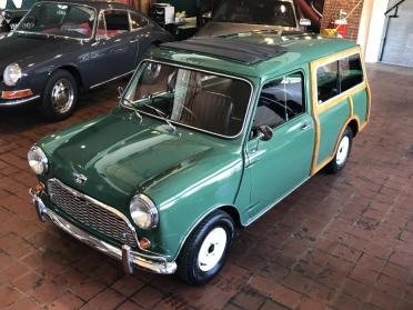 1966 Austin Mini CountryMan Wagon = RHD Go Green $obo For Sale