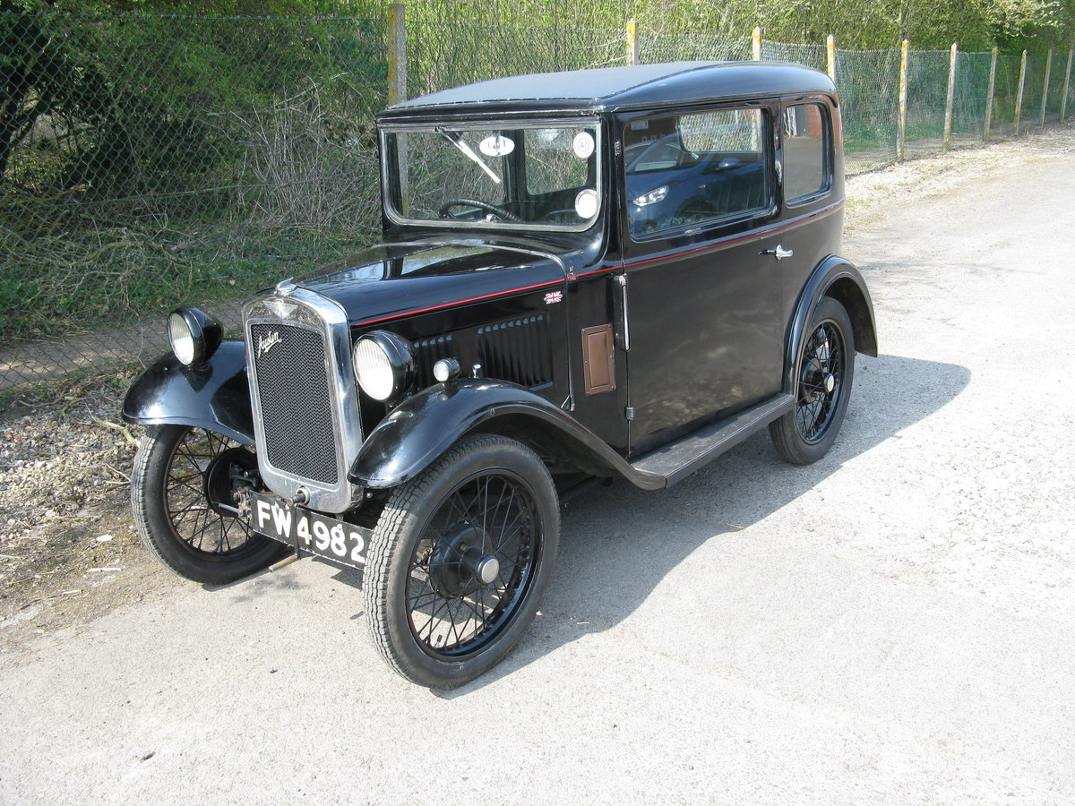 1934 Austin 7 RP Saloon, very original. SOLD (picture 1 of 6)