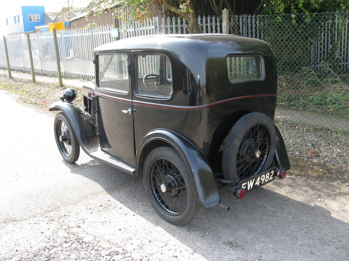 1934 Austin 7 RP Saloon, very original. SOLD (picture 2 of 6)