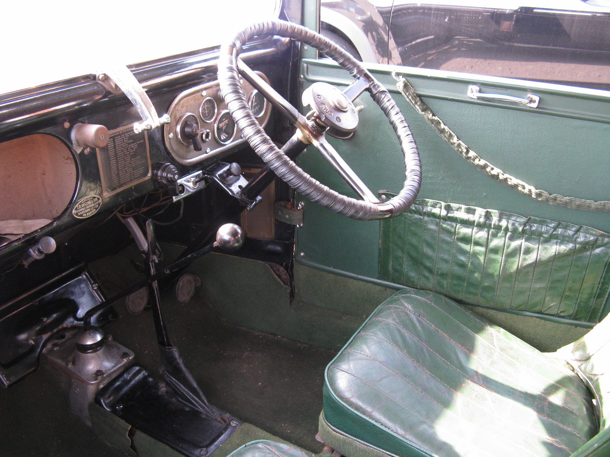 1934 Austin 7 RP Saloon, very original. SOLD (picture 5 of 6)