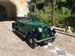 1937 Austin Ten Roadster  Dickey seat