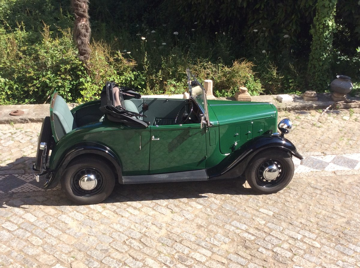 1937 Austin Ten Roadster  Dickey seat For Sale (picture 3 of 6)