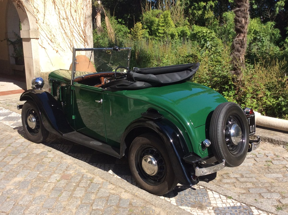1937 Austin Ten Roadster  Dickey seat For Sale (picture 4 of 6)