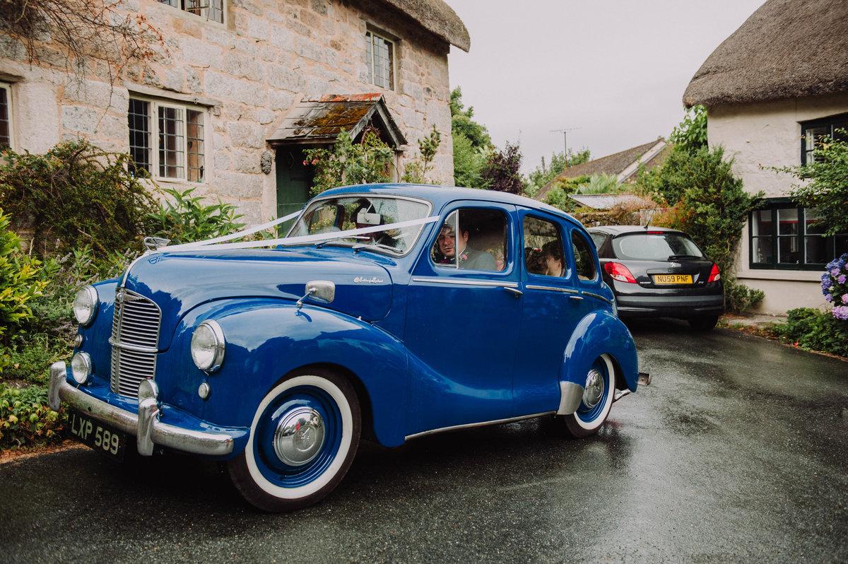 1951 Austin Devon in stunning Blue For Sale (picture 1 of 6)