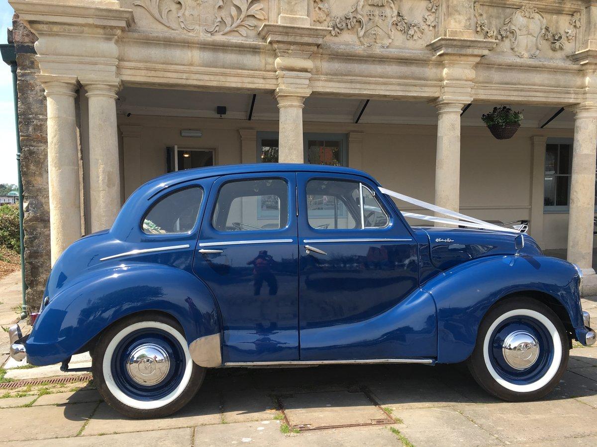 1951 Austin Devon in stunning Blue For Sale (picture 2 of 6)