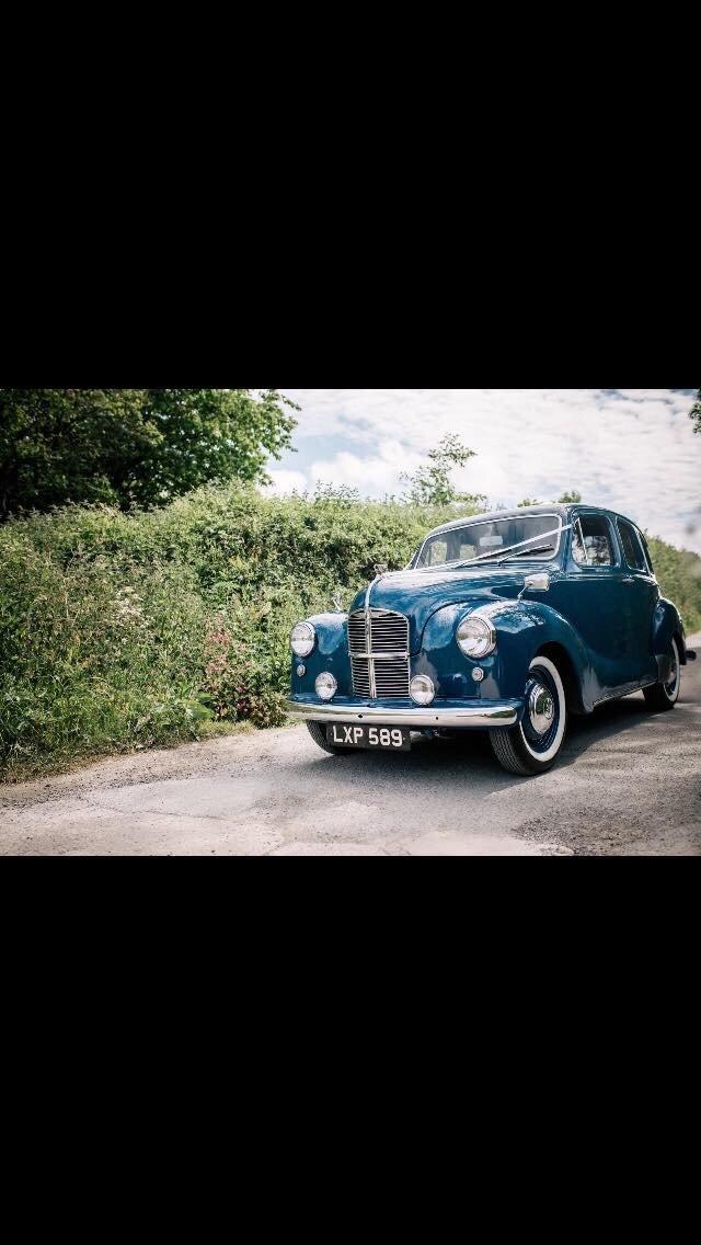 1951 Austin Devon in stunning Blue For Sale (picture 5 of 6)