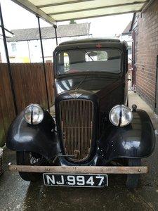1936 Unrestored running Austin 7 ruby