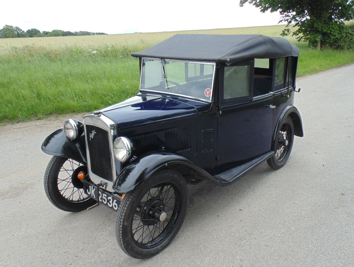 1932 Austin Seven Open Road Tourer SOLD (picture 1 of 6)